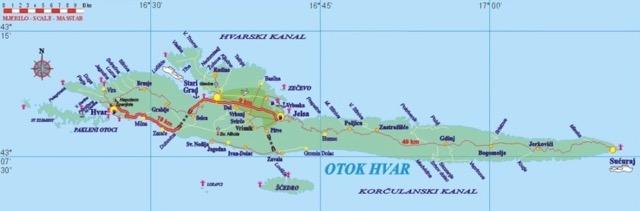 Eiland kaart